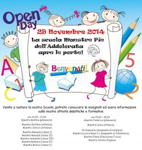 Open-day 2014-2015