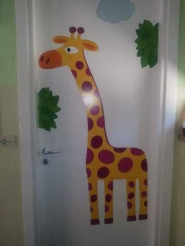 la giraffa del bagno